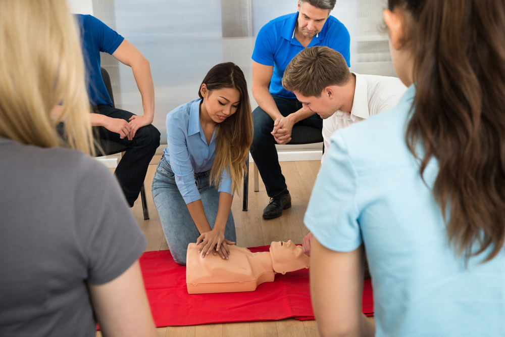CPR training in Kitchener Waterloo